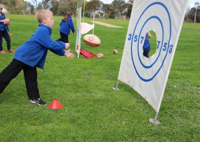 Photo of child at Auskick