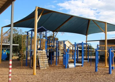 Photo of the school playground